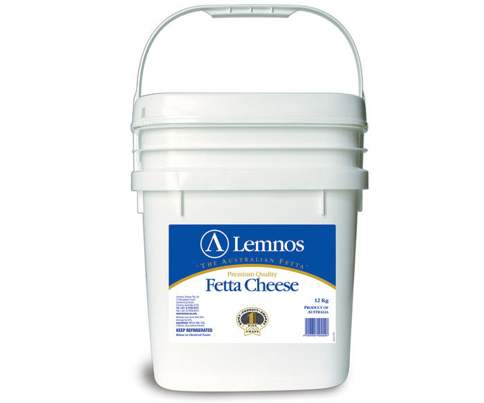 Lemnos Full Cream Fetta 12kg
