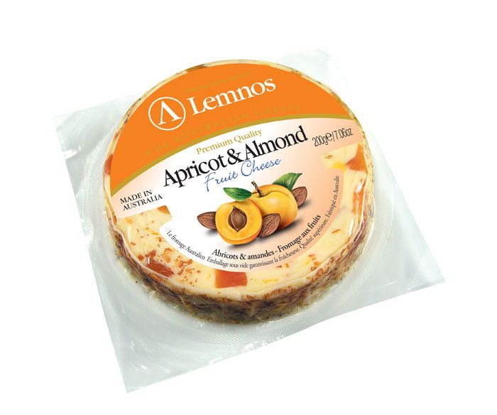 Lemnos Fruit Cheese Apricot & Almond
