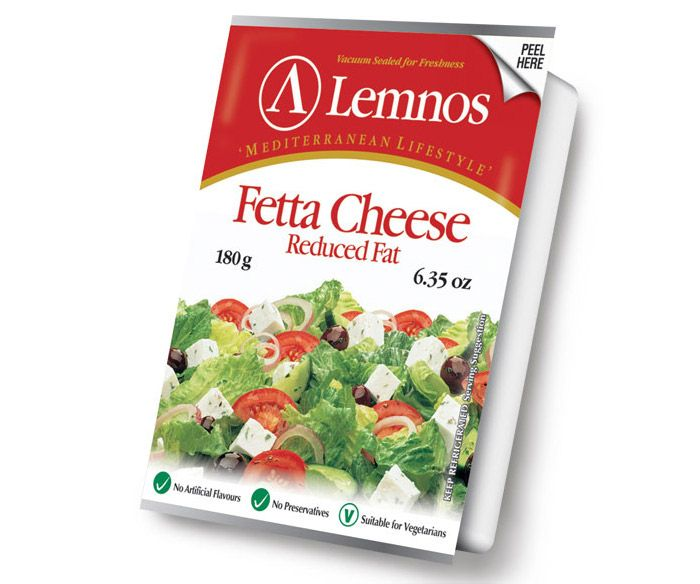 Lemnos Reduced Fat Fetta 180g
