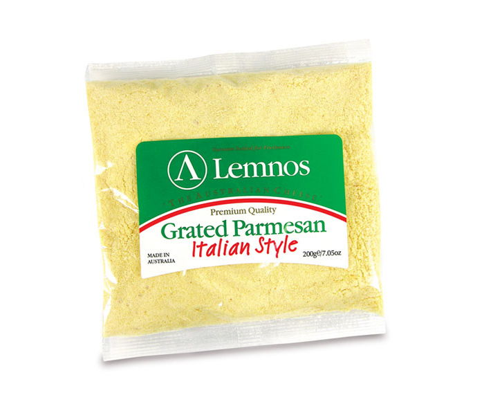 Lemnos Grated Parmesan Cheese – 100g, 200g, 1kg, 2kg (Export Quality)
