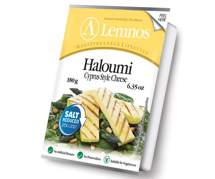 Lemnos Reduced Salt Haloumi 180g