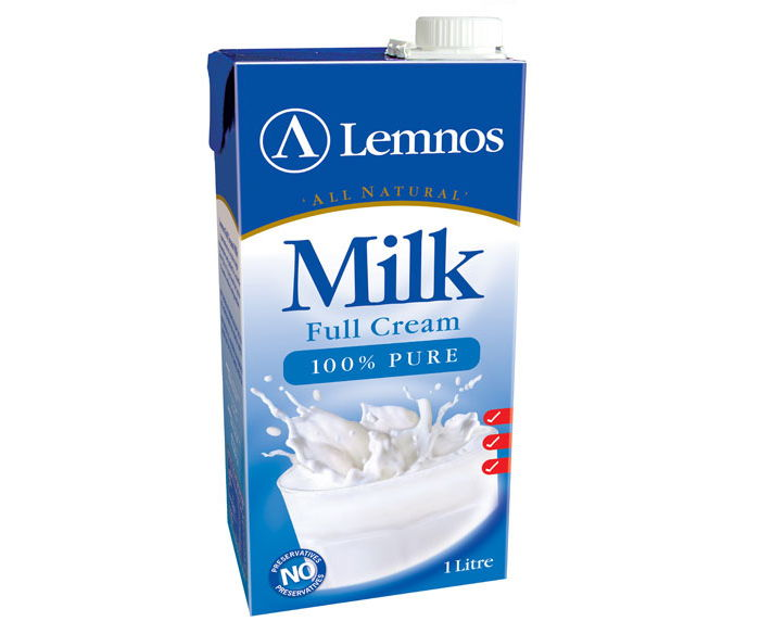 Lemnos Full Cream UHT Milk – 1L