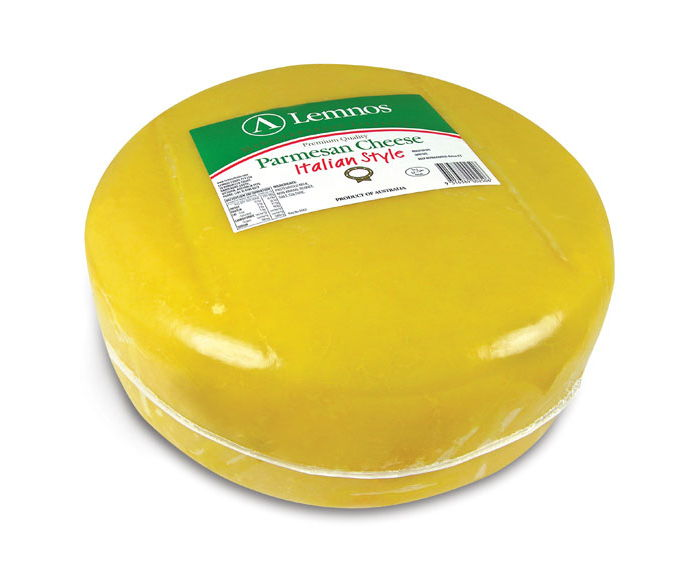 Lemnos Parmesan Wheel Cheese – 8kg (Export Quality)