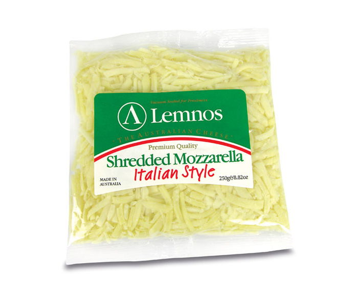 Lemnos Shredded Mozzarella