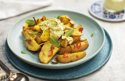 Potato Salad with Fetta, Lemon & Persian Spices recipe made with Lemnos Smooth Fetta