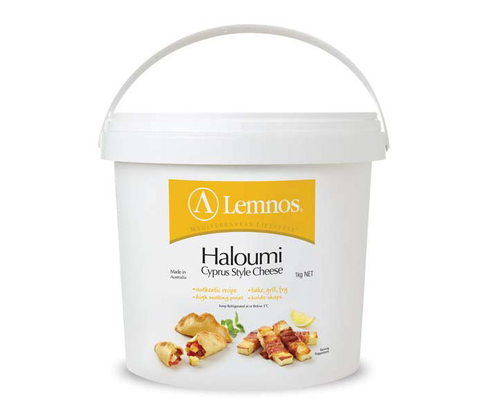 Lemnos Haloumi 1kg. Servings per Pack: 33, Serving Size: 30g