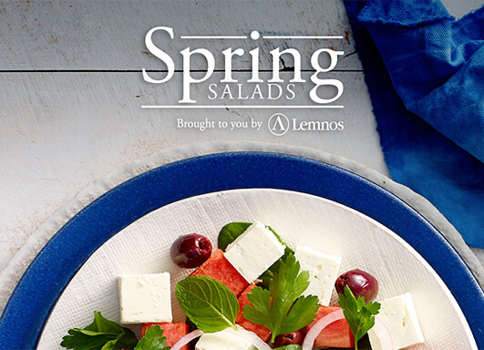 Lemnos Spring salad recipes ebook download